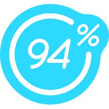 94 percent cover