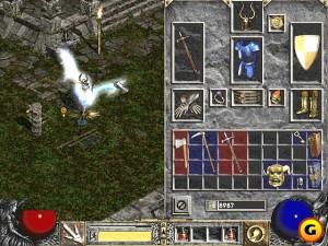 Diablo 2 inventory