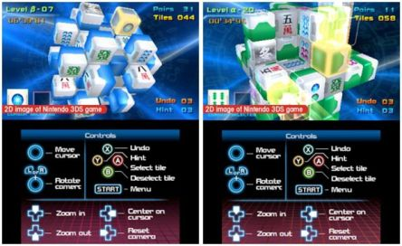 Mahjong CUB3D play