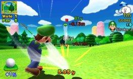 Mario Golf play