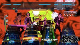 Rock Band 3 play