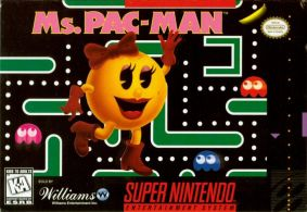 Ms Pac-Man SNES