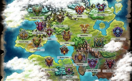 Gems of War map